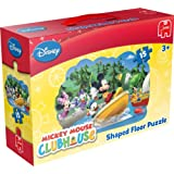 Disney Mickey Mouse Clubhouse Shaped Floor Puzzle (15 Pieces)