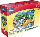 Mickey Mouse Clubhouse - Puzzle de suelo Mickey Mouse de 15 piezas (Jumbo 17486)