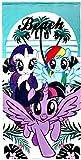 My Little Pony Toalla playa y piscina (Artesania Cerda 2200002791)