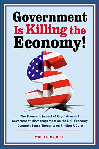Government is Killing the Economy: The Economic Impact of Regulation and Government Mismanagement on the U.S. Economy – Common Sense Thoughts on Finding A Cure (English Edition)