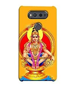 Snapdilla Designer Back Case Cover for LG V20 Dual H990DS :: LG V20 Dual H990N (Design Statue Background Wallpaper Hindu Art Culture )
