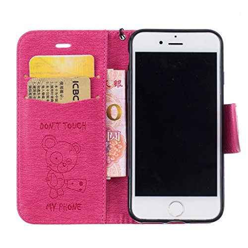 """Mo-Beauty, Borsa a tracolla donna Gold iPhone 6 Plus/6S Plus 5.5"""" inch Rose"""