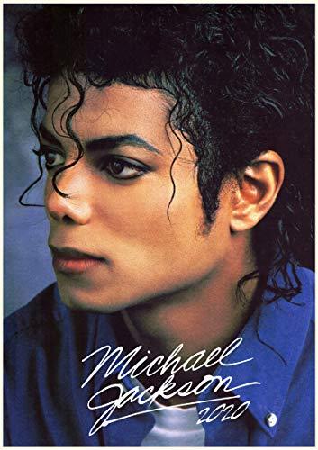 WallKalender 2020 [12 blatt 20x30cm] Michael Jackson Musik Vintage Foto Plakat Magazine Cover (Jackson Decor Michael Home)