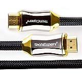 HDMI-Kabel, 2.0,Ultra-HD, 2160p, 4K, professionell, 3D, Full HD, 1080p, Arc