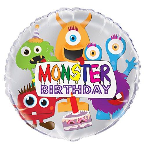 er Geburtstag Ballon (Monster-themed Geburtstag)