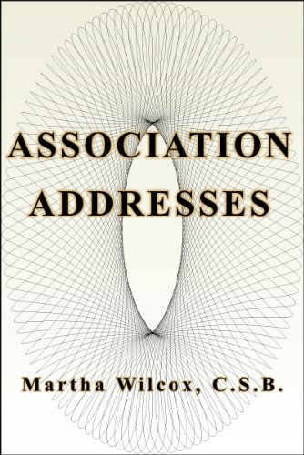 Association Adresses (English Edition)