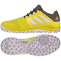 f2c38b690c36 Adidas - Hockey Divox 1.9S Shoes - Yellow White (2018 19)