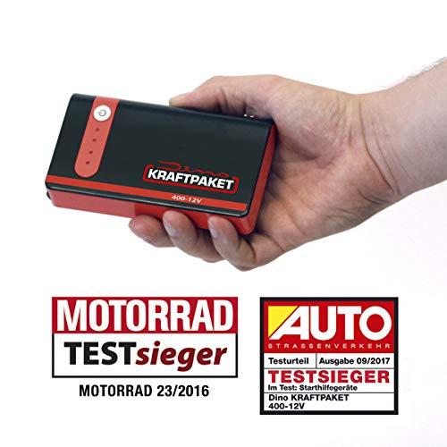 Dino KRAFTPAKET 12V-400A Starthilfegerät 33.3Wh 9000mAh