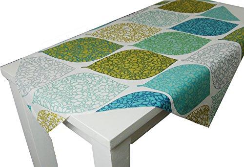 beties Momente Mitteldecke ca. 80x80 cm in interessanter Größenauswahl hochwertig & angenehm 100% Baumwolle Farbe (Applemint) (Marokkanische Sofa Decke)