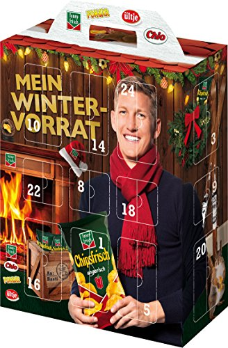 Produktbild Intersnack Snack Adventskalender, 1er Pack (1 x 640 g)