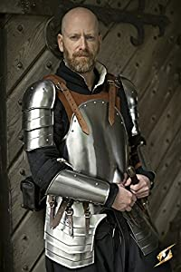 Epic Armoury 20075851 Merc Armour Deal - M/L - Marrón Completo, Unisex Adulto, Acero pulido
