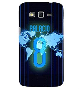 PrintDhaba Number 8 D-3915 Back Case Cover for SAMSUNG GALAXY GRAND 2 (Multi-Coloured)