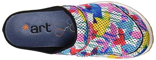 ART 0488 T.Tecnico Mykonos, Sabots Femme Multicolore (Clovers)