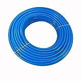 PA Schlauch PA 12 Polyamidschlauch Rolle 10 Meter 6 mm x 4 mm Blau
