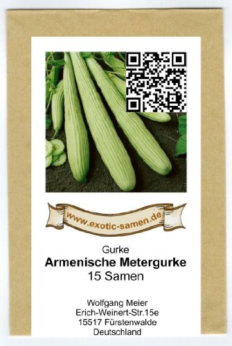 Gurke – Armenische Metergurke – 15 Samen