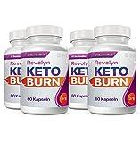 Revolyn Keto Burn - Pillola di dieta per una perdita di peso efficace (4 Flaconi)
