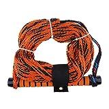 IPOTCH 1 Stück 75ft Wakeboard Wasserski Seil Orange Motorboot Wakeboard Wasserski Seil Durchmesser: Ca. 0,39 Zoll/10 mm