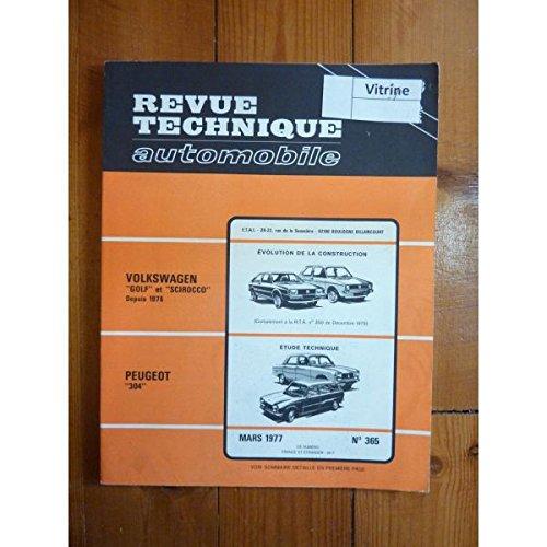 RTA0365 - REVUE TECHNIQUE AUTOMOBILE PEUGEOT 304
