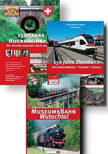 - Das große Paket zur Hochrheinbahn: Hochrheinbahn Schaffhausen - Thayngen - Gottmadingen - Singen - Radolfzell - Konstanz, Baugeschichte, Wutachtalbahn ()