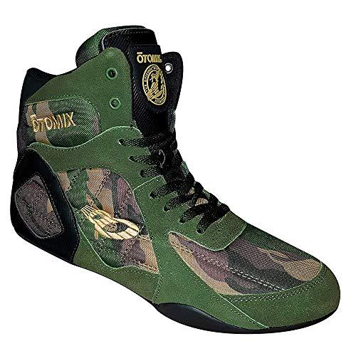 OTOMIX Ninja Warrior Fitness Bodybuilding MMA Schuh Sneaker High Tops - Camo Black - EU44