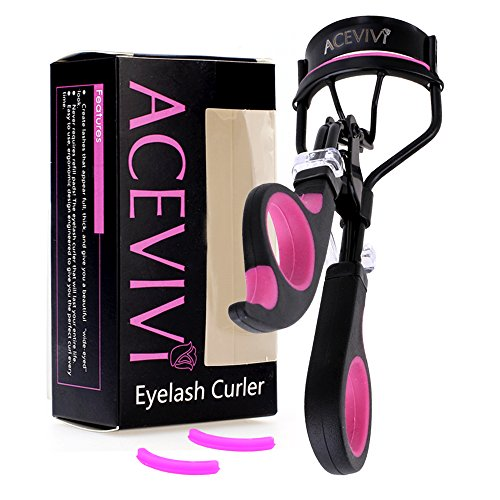 acevivi Deluxe Wimpernzange Perfect Match mit Falsche Wimpern Tool Kits Lash Curler