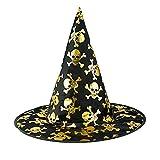 Tagether Halloween 2018 Hexenhut Stereo Haarspange Lila Hexe Hut Kopfschmuck Weihnachtsgeschenk süße kostüm Mädchen Weihnachten Verkleidung Karneval Party Halloween Fest Kappe
