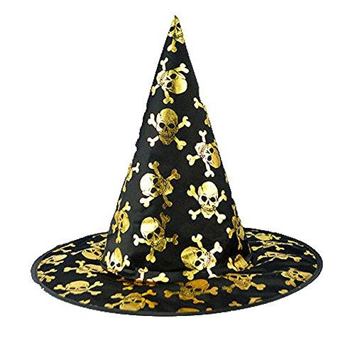 (Tagether Halloween 2018 Hexenhut Stereo Haarspange Lila Hexe Hut Kopfschmuck Weihnachtsgeschenk süße kostüm Mädchen Weihnachten Verkleidung Karneval Party Halloween Fest Kappe)
