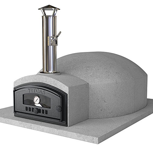 Vitcas DIY Wood Fired Pizza Oven Kit - Build Your Own Pompeii 100 Outdoor Oven