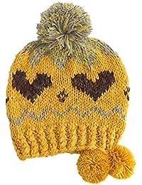 Unisex Mujer o Hombre Sombreros Cálido Gorro Gorra con Pom de Punto Beanie  Warm Cap Otoño Invierno… 57a8d24a326