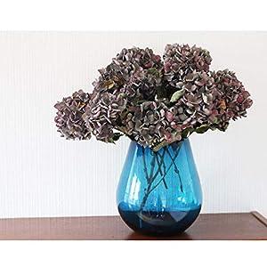 Dekovase groß 24cm Mundgeblasenes Glas, Blumenvase, Glasvase, große Vase, HANDARBEIT, Fensterdeko Geschenkidee Weihnachtsgeschenk