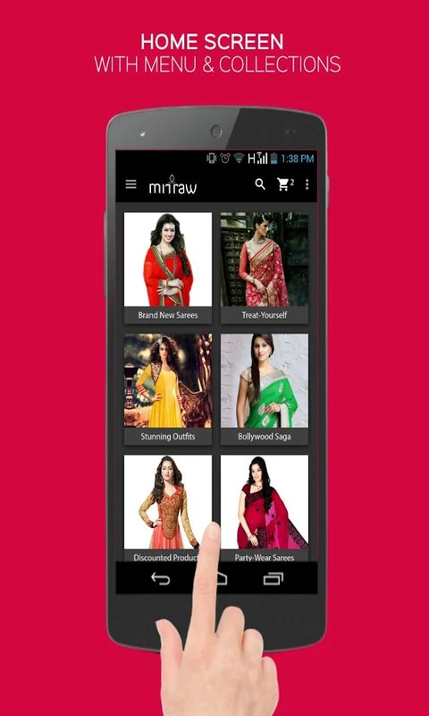 Mirraw Women Online Shopping  Amazon.co.uk  Appstore for Android f15612891d