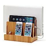 Multi Organizer aus 100% Bambus für Smartphone, Tablet, Laptop, eReader, Bücher,...