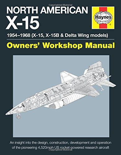 North American X-15 Manual (Owners Workshop Manual)
