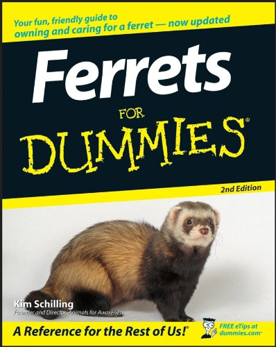 Ferrets For Dummies 2e (For Dummies Series)