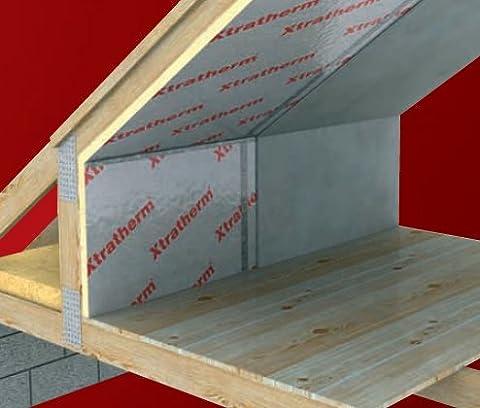 2400 x 1200 x 50mm XtraTherm - Celotex High Performance Rigid Foam PIR Insulation Sheet Roof or