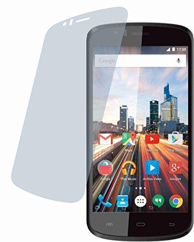 4ProTec Archos 50 Cesium (4 Stück) Premium Bildschirmschutzfolie Displayschutzfolie ANTIREFLEX Schutzhülle Bildschirmschutz Bildschirmfolie Folie