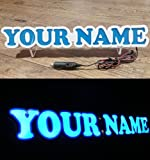 3D IHR NAME 12V 24V LED Namensschild für LKW Truck Trucker Fahrer Schild Zubehör BELEUCHTUNG NUR VORWÄRTS - stört Sie nicht beim Fahren 5 FARBEN