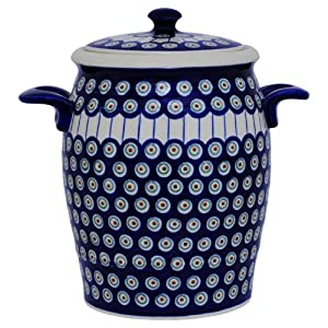 Original Boleslawiec Rum Pot 4,2 Litre – Bunzlauer Multi-Purpose Ceramic Pot Decor 8
