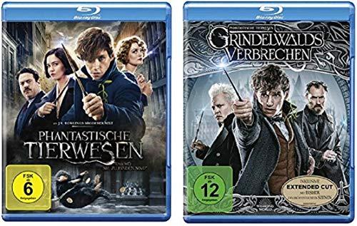 Phantastische Tierwesen Teil 1+2 [Blu-ray Set] und wo sie zu finden sind + Grindelwalds Verbrechen