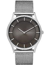 Skagen Herren-Armbanduhr Analog Quarz Edelstahl SKW6239