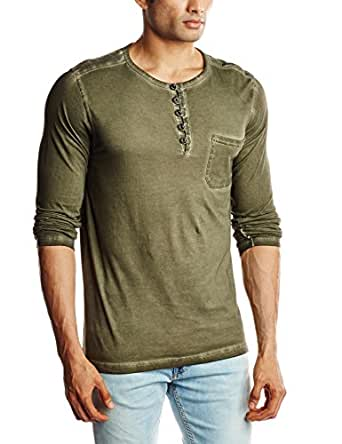 Breakbounce Men's T-Shirt (8907066074346_Kreel_Large_Olive)