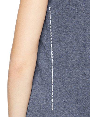 BOSS Casual Damen T-Shirt Teeday Blau (Medium Blue 429)