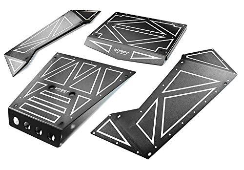Integy RC Model Hop-ups C27006BLACK Aluminum Alloy Panel Kit for Axial 1/8 Yeti XL Rock Racer Buggy - Rc-kit Yeti