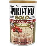 Natures Plus Spiru-Tein Gold Protein Shake Chocolate Cherry , 1.03 lb