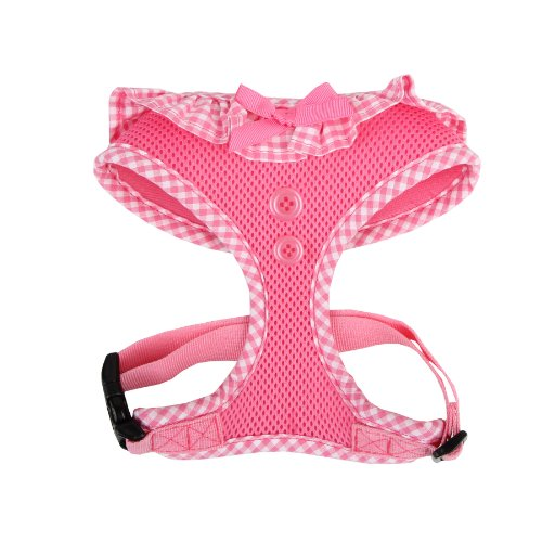 Puppia PALA-AC860 Hundegeschirr, Vivien, Größe XS, rosa