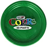Colors - Piatti, Monouso, 30 pezzi