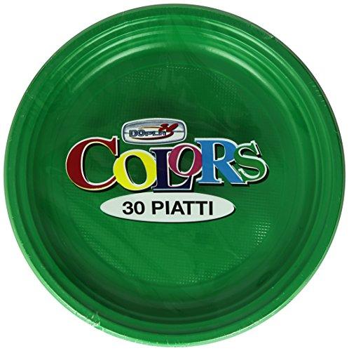 Colors - Assiettes, jetables, 30 pièces
