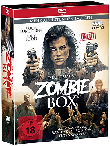 Die ultimative Zombie-Box (3 Movie Box, Uncut) [3 DVDs] Uncut-box