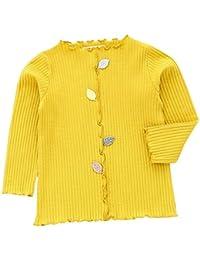 JIANGFU Camiseta Sin Mangas - Para Bebé Niña