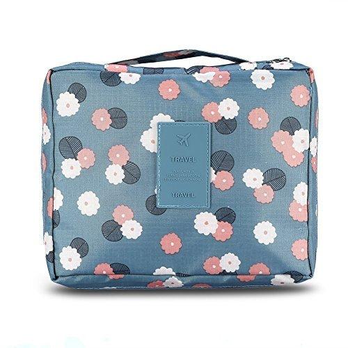 Duomishu Kosmetik-Tasche Make-Up Tasche Kosmetikkoffer für Toilettenartikel Kosmetik Beauty Case Reisengepäck Multifunktionale Handtasche Schminktasche Kulturbeutel zum Reisen oder Zuhause